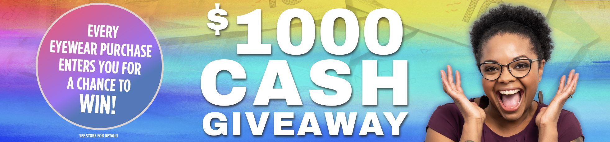 $1000 Giveaway!